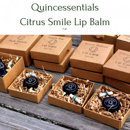 Quincessentials Citrus Smile Lip Care