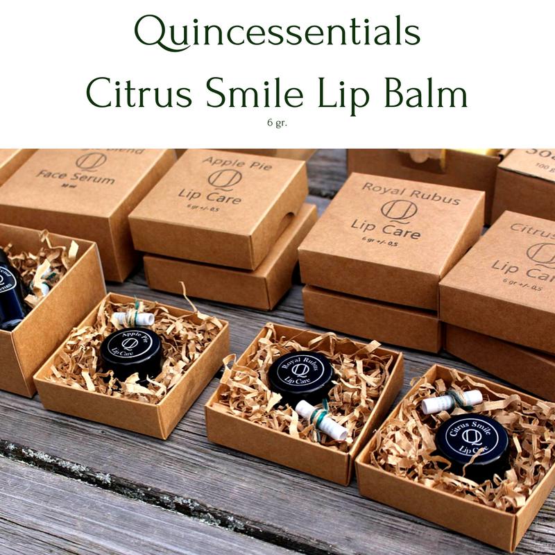 Quincessentials Citrus Smile Lip Care